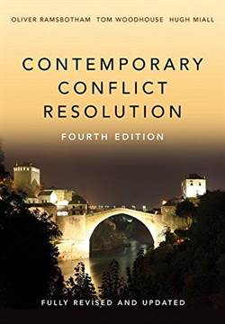 Contemporary Conflict Resolution 4Th Ed.