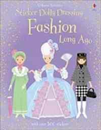 Sticker Dolly Dressing: Fashion Long Ago