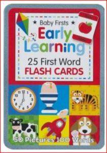 Early Learning 25 Flash Cards
