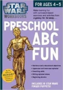 Star Wars Workbooks Preschool Abc Fun Fo