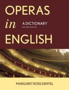 Operas In Englısh Cb