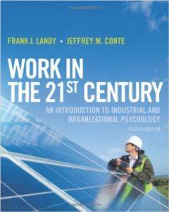 Work in the 21st C ...