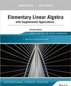 Elementary Linear Algebra With ...