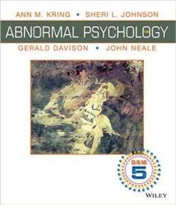 Abnormal Psychology 12E