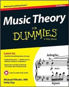 Music Theory For Dummies, 3rd ed.