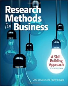 Research Methods For <br/>Business: A Skill- ...