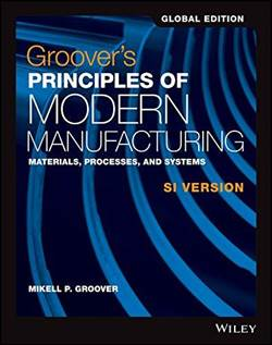 Principles Of Modern Manufacturing Global Edition