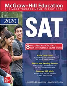 Mcgraw-Hill Education <br/>SAT 2020