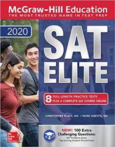 Mcgraw-Hill Education SAT Elite 2020