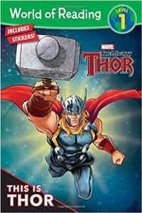 World Of Reading This İs Thor (Level 1)