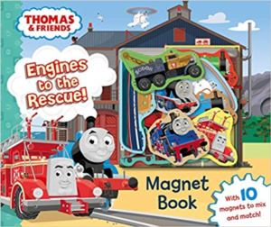 Thomas And Friends: Engines To The Rescue (Magnet Book)