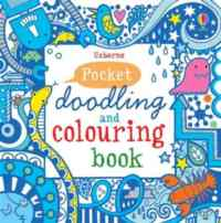 Pocket Doodling and Coloring: Blue Book