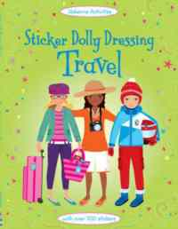 Sticker Dolly Dressing: Travel