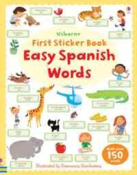 First Sticker Book: Easy Spanish Words