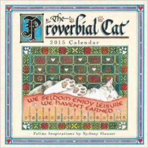 Cal 15 Proverbial Cat mini