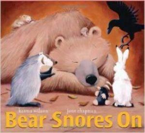 Bear Snoars On