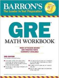 Barron's GRE Math Workbook (3R ...