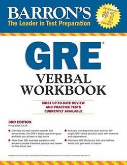 Barron's GRE Verbal Workbook (3Rd Ed)
