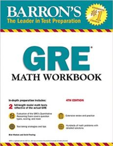 Barron's GRE Math Workbook (4Th Ed.)