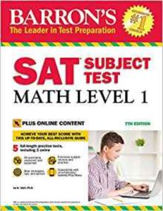 Barron's SAT Math Level 1 With Online Tests