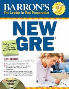 Barron's New GRE ( ...