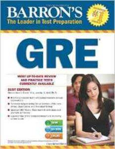 Barron's GRE with CD-ROM (21st ...