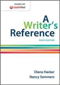 A Writer's Reference Eight Edi ...