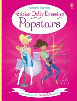 Sticker Dolly Dressing Popstars