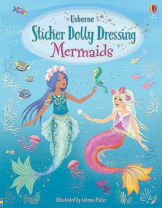 Sticker Dolly Dressing Mermaids - Sticker Dolly Dressing