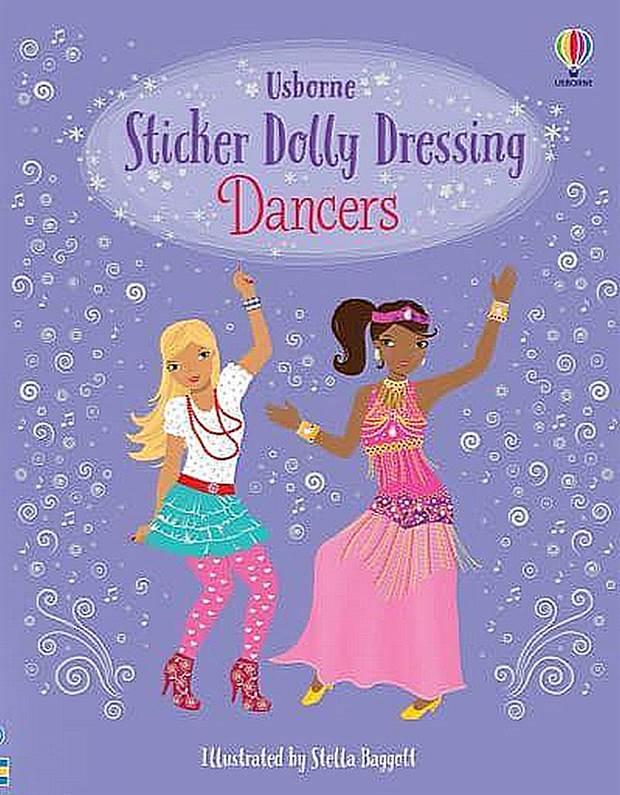Sticker Dolly Dressing Dancers - Sticker Dolly Dressing
