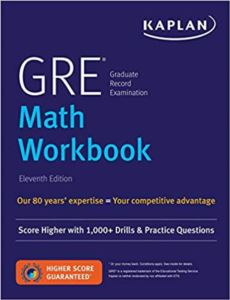 Kaplan GRE Math Workbook (11Th Ed.)