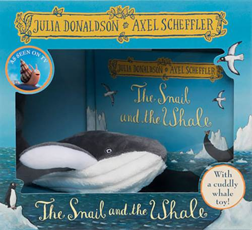 Snail And The Whale Book And Toy: Whale