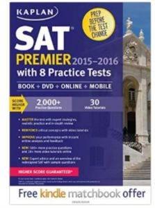 Kaplan SAT Premier 2015-2016 With 8 Practice Tests
