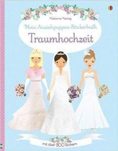 Traumhochzeit (Stickerbuch)