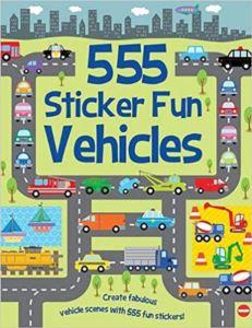 555 Sticker Fun <br/>Vehicles
