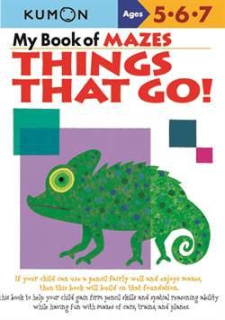 My Book of Mazes: Things That Go