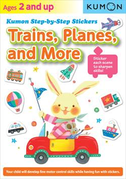 Trains, Planes & More (Sticker Book)