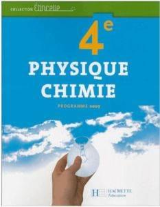Physique Chimie 4 programme 2007