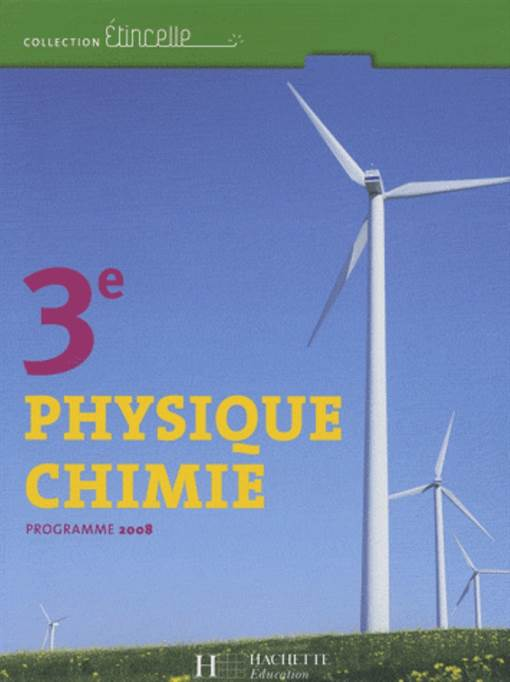 Physique Chimie 3  ...