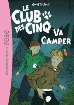 Le Club Des Cinq va camper (tome 10)