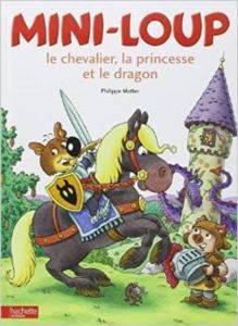 Mini loup, le chavalier, la princesse et le dragon