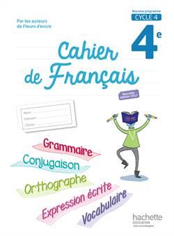 Cahier de français ...