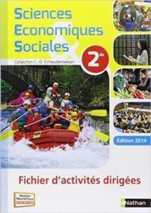 2014 SES 2de Fichier d'activités dirigées