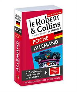 Dictionnaire Le Robert & Collins poche Allemand