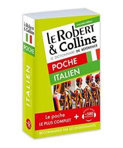 Dictionnaire Le Robert & Collins Poche Français-Italien, Italien-Français