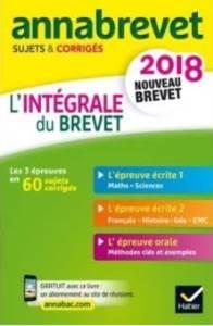 Annales <br/>Annabrevet 2018