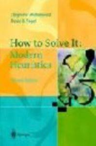 How To Solve it : Modern Heuristics