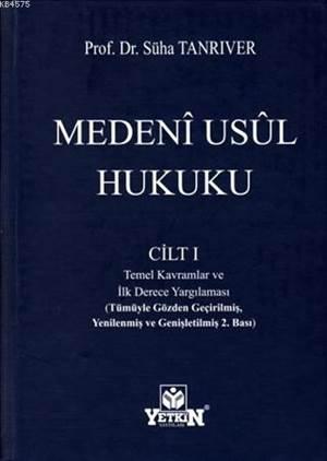 Medeni Usul Hukuku Cilt 1