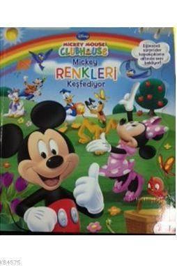 Mickey Mouse Club House Mickey Renkleri Keşfediyor