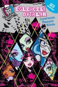 Monster High Eğlenceli Oyunlar; Çıkartmalı Faaliyet Kitabı